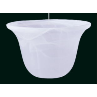 Glass Shade - Acid - 150mm Pack of 3