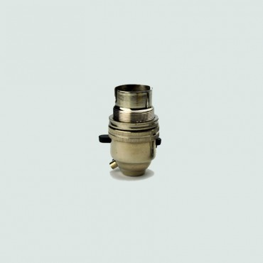 Switched Lampholder - Bronze
