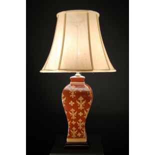 Complete Table Lamp - 7021 With Shade