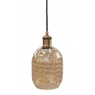 Glass Shade - Carbo 160 Cognac