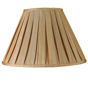 Champagne  Box Pleat 18""