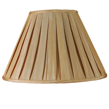 Champagne  Box Pleat 20""