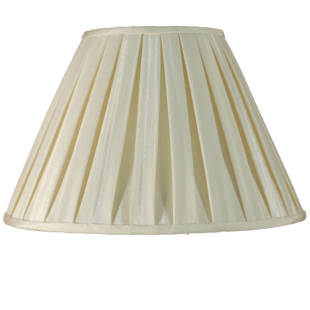 Cream Box Pleat 10""