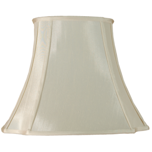 Cream Oval Cut Corner 8""