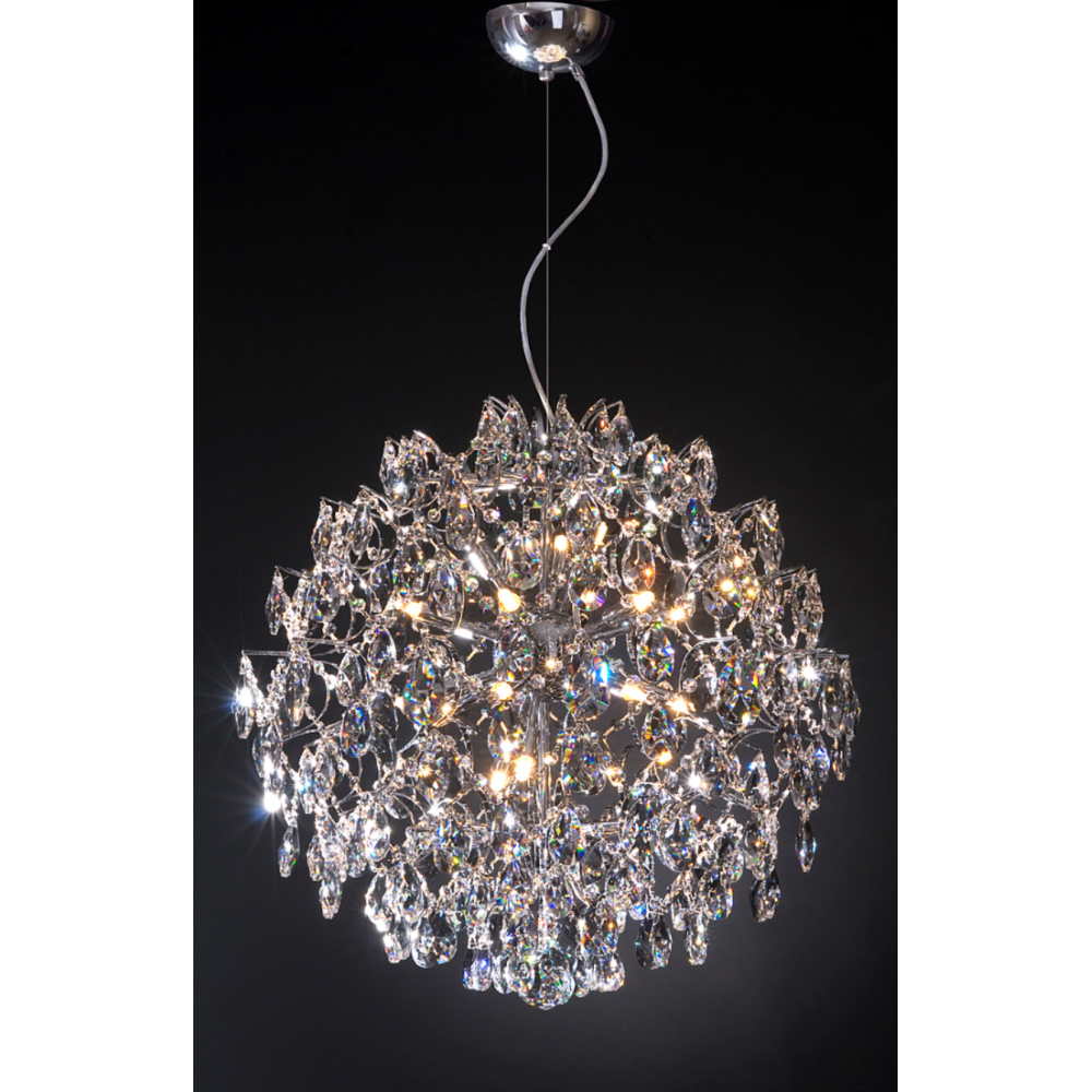 Pegasus 18 Light Modern Crystal Light