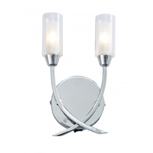 Canarina 2 Light Wall - Chrome