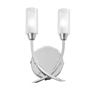Canarina 2 Light Wall -Satin Nickel