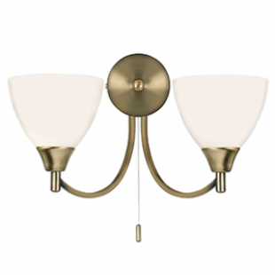 Dewberry 2 Light Wall  - Antique