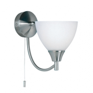 Dewberry 1 Light Wall - Satin Nickel