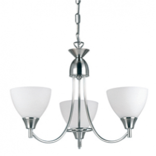 Dewberry 3 Light - Satin Nickel