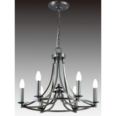 Eros 6 Light Chandelier