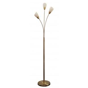 Furama 3 Light Floor Lamp - Antique