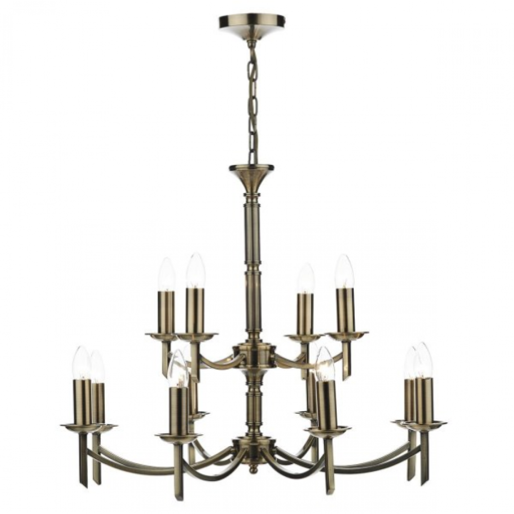 Patrinia 12 Light Antique