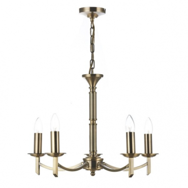 Patrinia 5 Light Antique