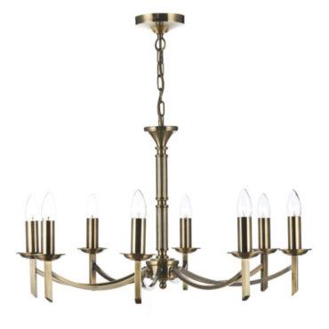 Patrinia 8 Light Antique