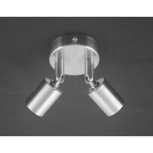 Austin 2 Light Plate - Satin Nickel