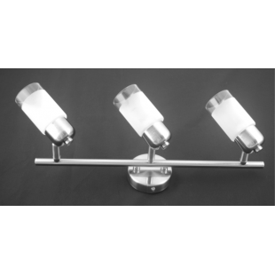 Detroit 3 Bar Light - Satin Nickel